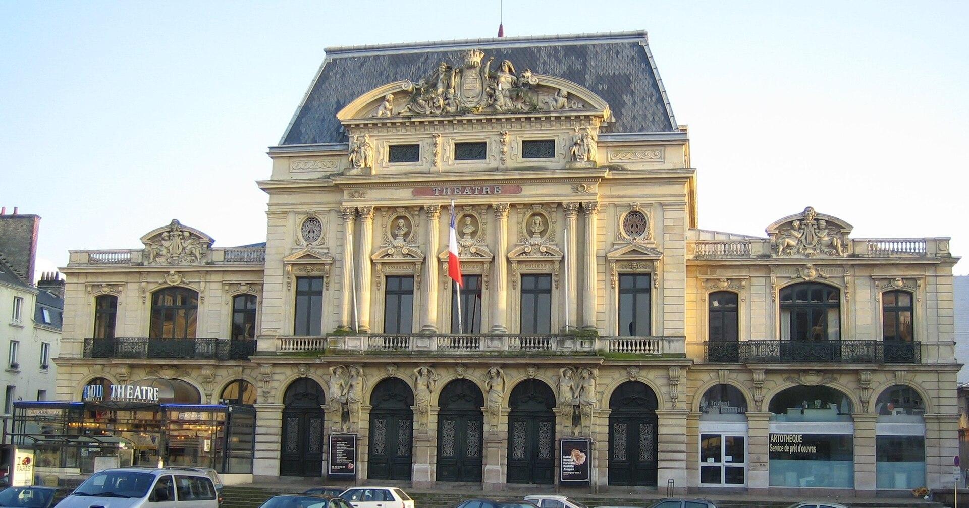 Le trident wikip dia for Architecte cherbourg