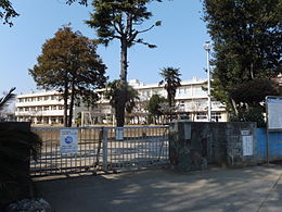 Chiba City garden Elementary School