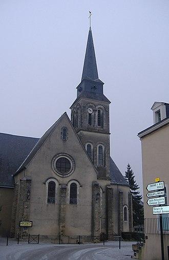 Saint-Étienne Church (Entrammes) - Image: Chiesa entrammes