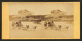 Children in goat cart on beach, from Robert N. Dennis collection of stereoscopic views 7.png