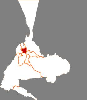 Xinshi District, Ürümqi District in Xinjiang, Peoples Republic of China