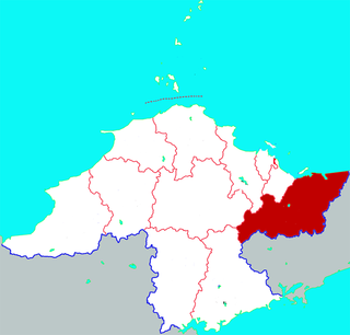 Muping District District in Shandong, Peoples Republic of China
