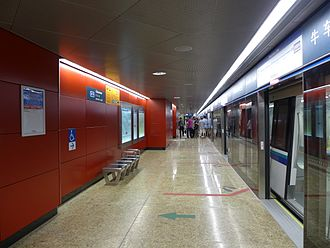 Chinatown MRT station - Downtown Line platform