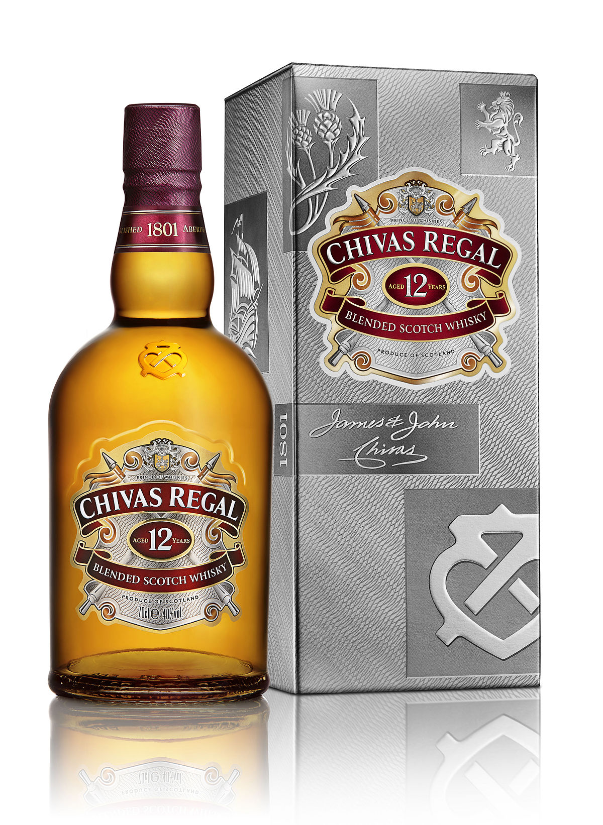 Dating a bottle of chivas regal