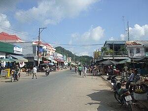 Tri Tôn District - Image: Chobachuc