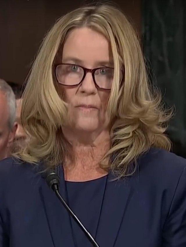 Christine Blasey Ford, 27 September 2018