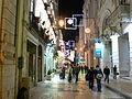 Christmas lights on Rua das Portas de Santo Antao (4141498957).jpg