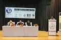 Chronology of Odia Wikimedia projects by Subhashish Panigrahi at Odia Wikisource Sabha 2014, Bhubaneswar.jpg