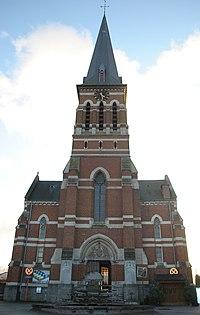 Church of Saint Martin at Tollembeek, Belgium.jpg