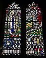 Church of St Mary the Virgin, Shipley, West Sussex, England ~ interior stained window 01.JPG
