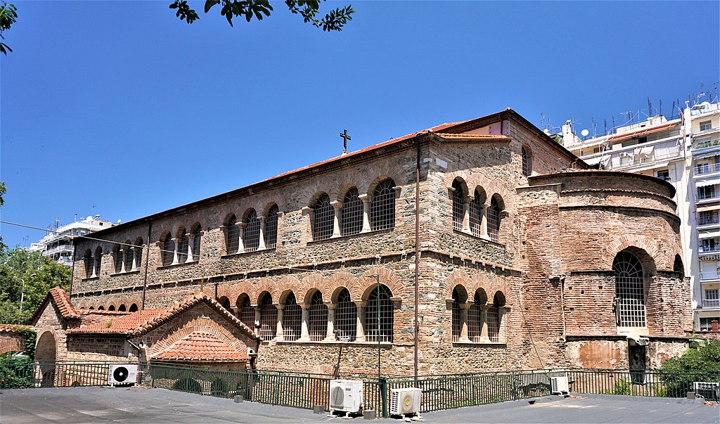 Church of the Acheiropoietos (Thessaloniki) by Joy of Museums 4