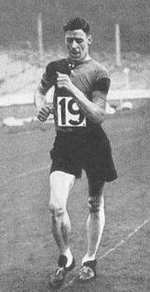 Harold Whitlock British racewalker