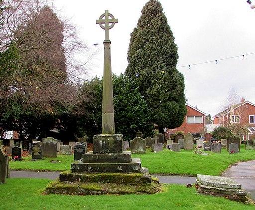 Churchyard Cross, Albrighton