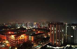 Kakkanad - Kakkanad at night