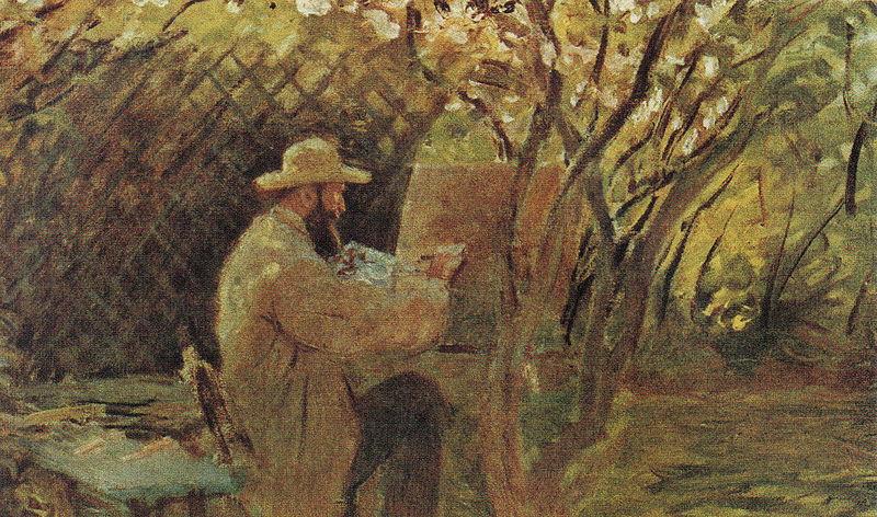 File:Claude Monet - Manet malt im Garten Monets in Argenteuil.jpg