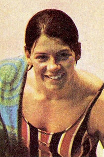Claudia Kolb American swimmer, Olympic gold medalist, former world record-holder