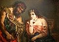 Cleopatra and Peasant-DelacroixPC20080120-8826A.jpg