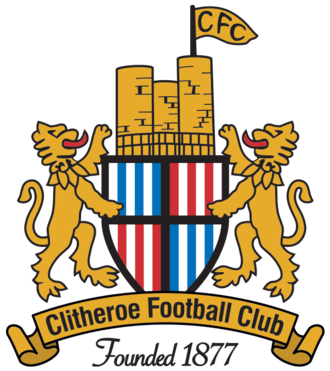 Clitheroe F.C. - Image: Clitheroe FC Badge