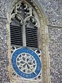 Clock, St Mary's Church, Worstead - geograph.org.uk - 772514.jpg