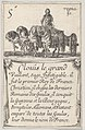 Clovis le grand - Vaillant, sage..., from 'Game of the Kings of France' (Jeu des Rois de France) MET DP831126.jpg