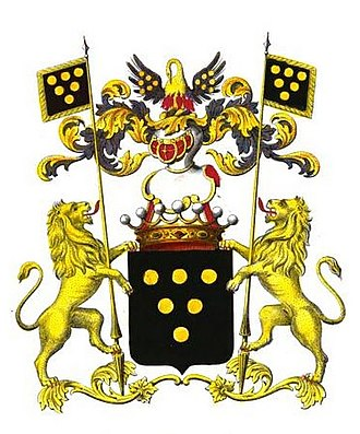 Henri de Vicq, Lord of Meuleveldt - Coat of arms