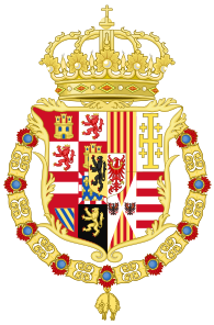 Coat of Arms of Charles II of Spain as Monarch of Naples and Sicily.svg