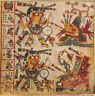 Tlāhuizcalpantecuhtli - Image: Codex Cospi Page 10