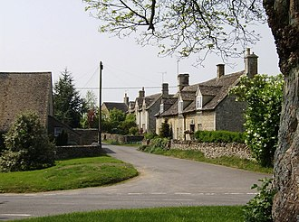 Cold Aston - Image: Cold Aston geograph.org.uk 447450