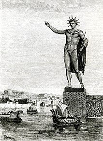 Colossus of Rhodes One of the seven wonders of the ancient world