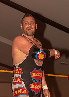 Colt Cabana American professional wrestler, stand-up comedian and podcaster