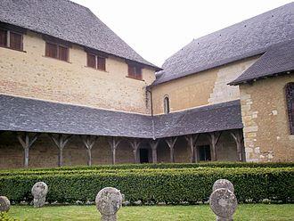 Lacommande - La Commanderie, monument historique