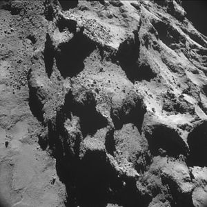 Comet 67P on 24 October 2014 NavCam B.jpg