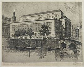 Commerz- und Disconto-Bank Hamburg 1874.