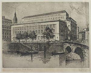 Commerzbank - Commerz- und Disconto-Bank, Hamburg, 1874.