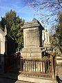 Concession perpétuelle de la famille Parthon de Von au cimetière de Laeken (Bruxelles, Belgique).jpg