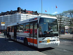 Nobina - An Ikarus E94 in the corporate livery of Concordia Bus.