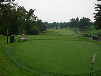 Congressional Country Club - First tee of the Gold Course
