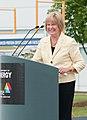 Congresswoman Judy Biggert speaks at APCF groundbreaking.jpg