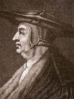 Konrad Peutinger - Peutinger in a Renaissance engraving