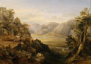 Wiseman's Ferry in 1838