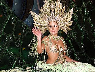 Carnival Queen - Carnival Queen of Santa Cruz de Tenerife, 2009.