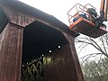 Contoocook Covered Railroad Bridge Staining and lift.jpg