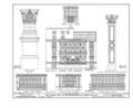 Cooper Union for the Advancement of Science and Art, Third and Fourth Avenues, Astor Place, Seventh Street, New York, New York County, NY HAER NY,31-NEYO,81- (sheet 12 of 20).png