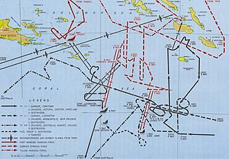 Invasion of Tulagi (May 1942) - Image: Coral sea