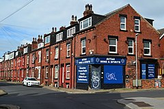Corner shop and terraced houses on Royal Park Road (geograph 6255208).jpg