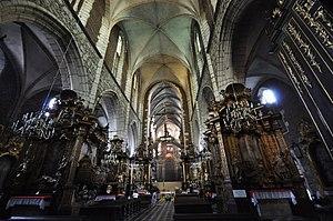 Corpus Christi Basilica - Interior of the basilica