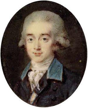 Axel von Fersen the Younger - A young Axel von Fersen.