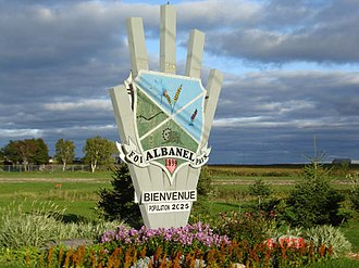 Albanel, Quebec - Image: Countryside in Albanel, Quebec