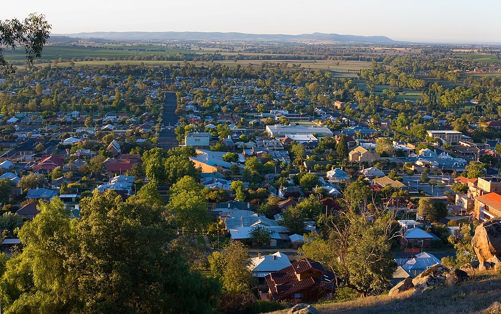 Cowra lookout at Dawn-1+ (2145448138)
