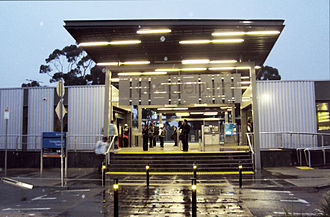Philip Cox - Craigieburn train station, Victoria.
